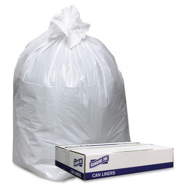 Genuine Joe Extra Heavy-Duty Trash Bags