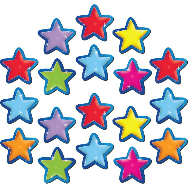 Teacher Created Resources Magnetic Stars Accents
