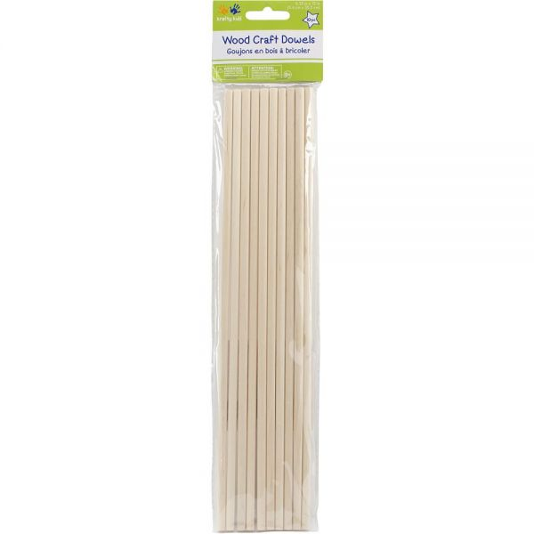 Krafty Kids Wood Craft Dowels