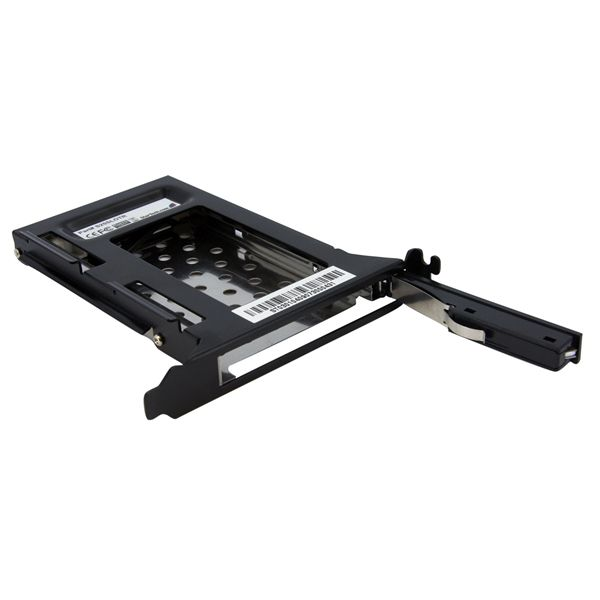 StarTech.com 2.5in SATA Removable Hard Drive Bay for PC Expansion Slot