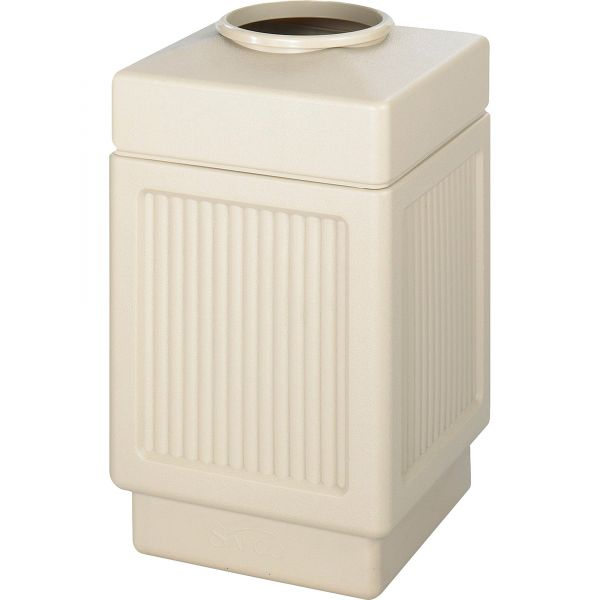 Safco Canmeleon Open-Top 38 Gallon Trash Can