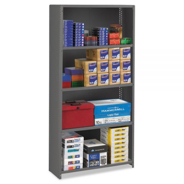 Tennsco Closed Commercial Steel Shelving Unit