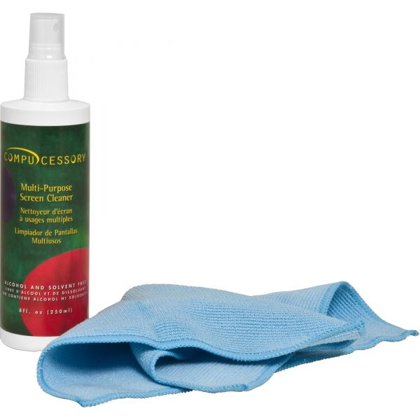 Compucessory LCD/Plasma Screen Cleaner with Cloth