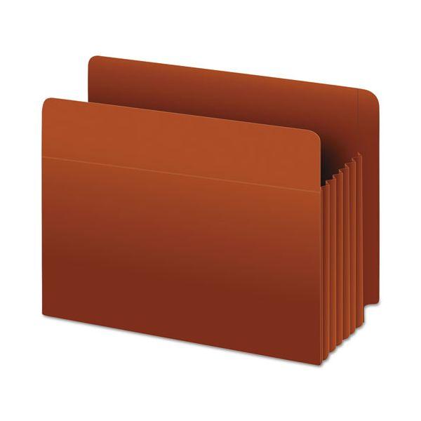 Pendaflex Heavy-Duty End Tab File Pockets, Straight Cut, 1 Pocket, Legal, Brown