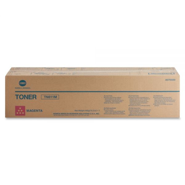 Konica Minolta TN-611M Magenta Toner Cartridge