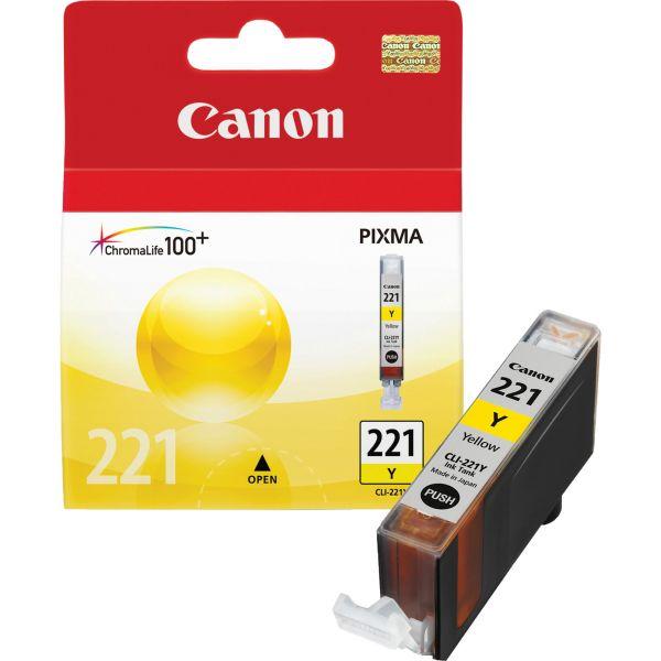 Canon CLI-221Y Yellow Ink Cartridge (2949B001)