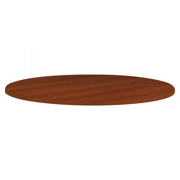 "HON 10700 Series Round Table Top, 42"" Diameter, Cognac"