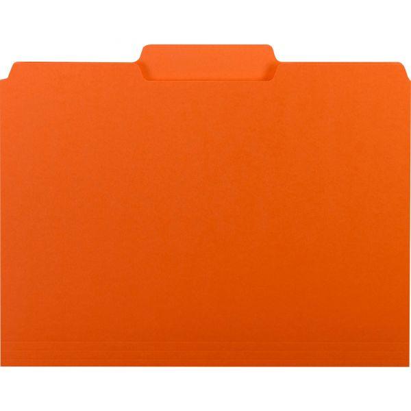 Smead Orange Colored File Folders