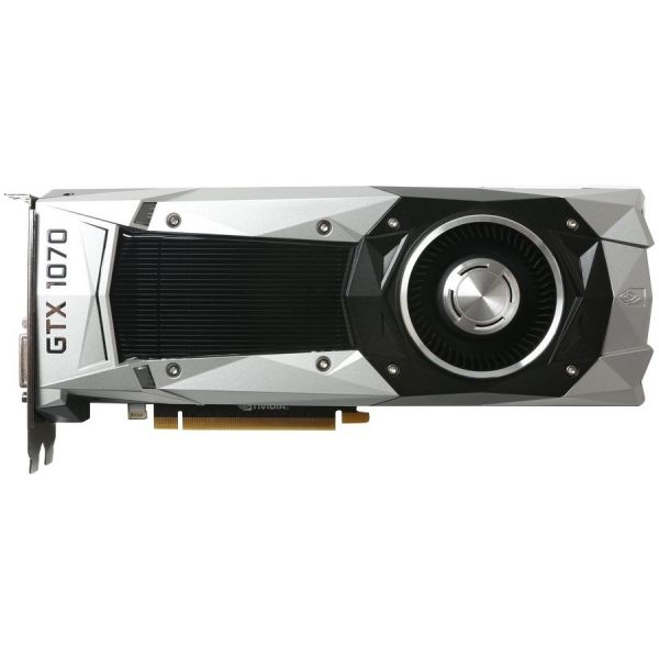 Zotac GeForce GTX 1070 Graphic Card - 1.51 GHz Core - 1.68 GHz Boost Clock - 8 GB GDDR5 - PCI Express 3.0 - Dual Slot Space Required