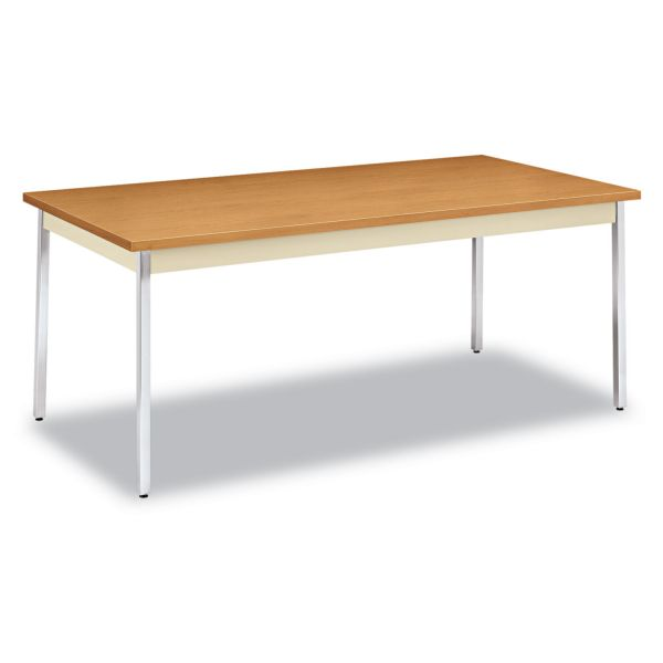 HON Metal Utility Table  36D x 72W