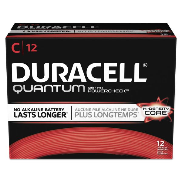 Duracell Quantum C Batteries with Duralock Power Preserve Technology