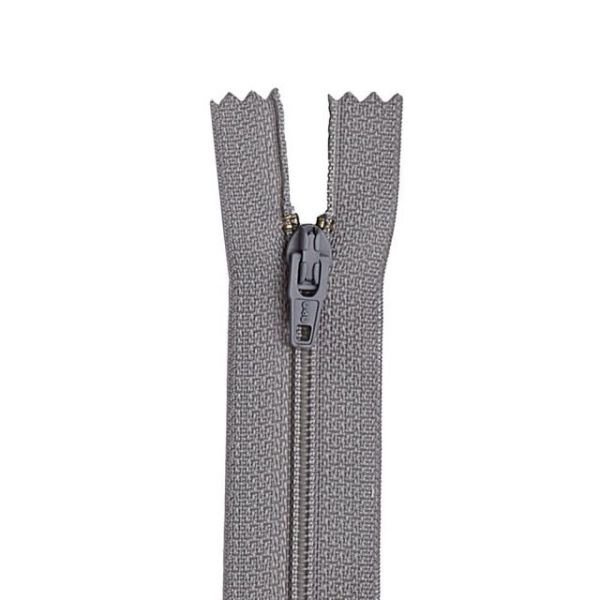 "All-Purpose Plastic Zipper 9"""