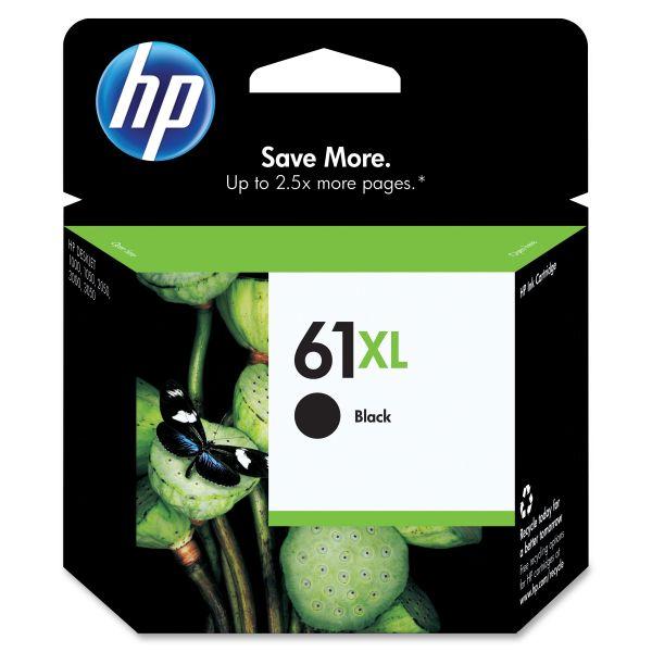HP 61XL High Yield Black Ink Cartridge (CH563WN)
