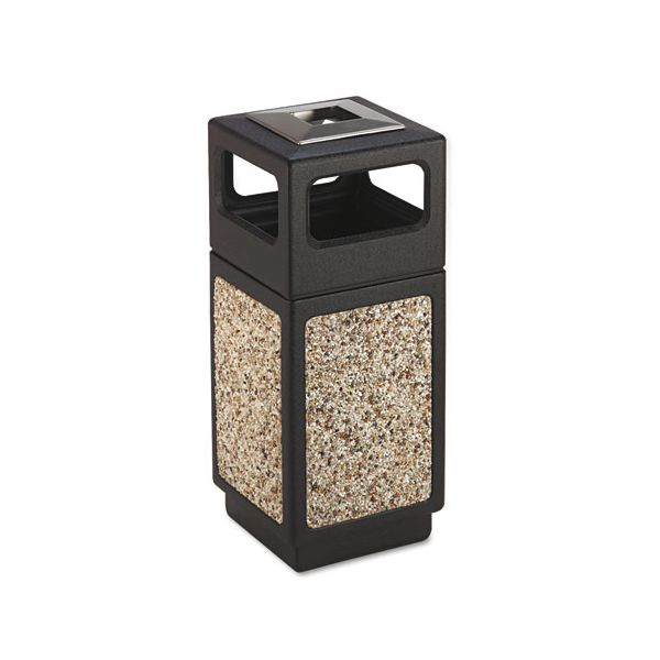 Safco Ash Urn Side Open Receptacle