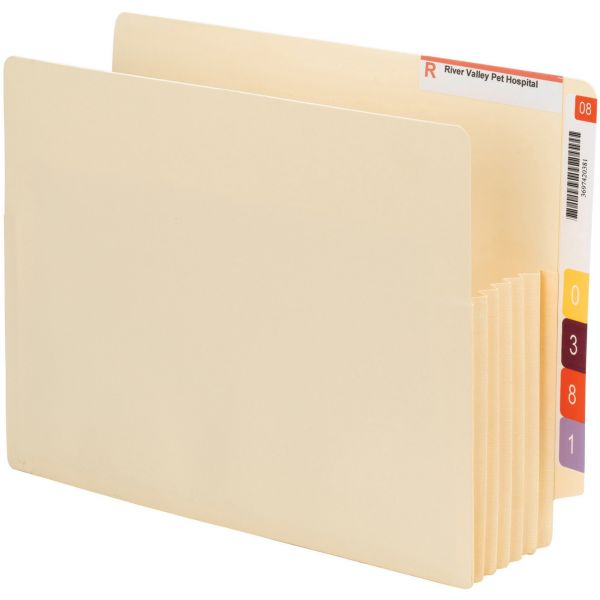 Smead Convertible End Tab File Pockets
