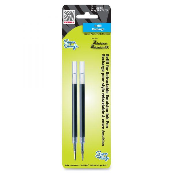Zebra Pen Emulsion EQ Pen Refills
