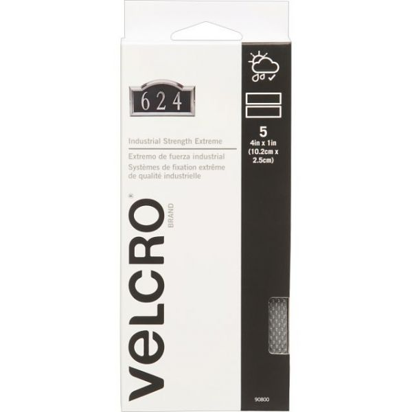 """VELCRO(R) Brand Industrial Strength Extreme Fasteners 4""""X1"""""""