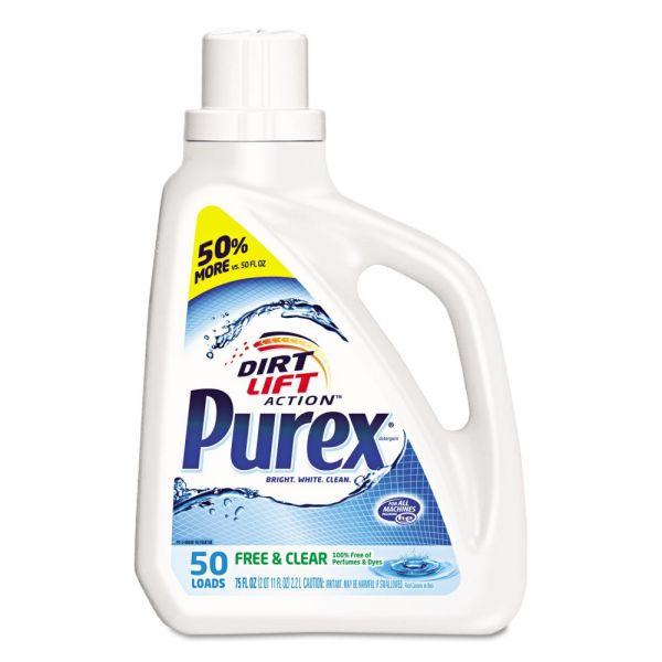 Purex Free & Clear Liquid Laundry Detergent