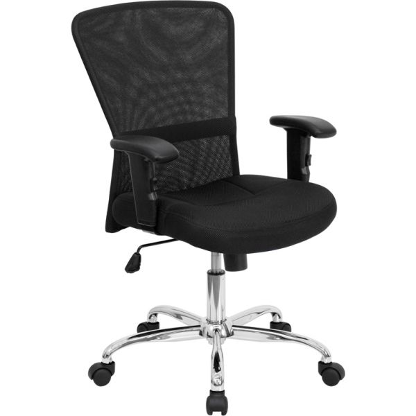 Flash Furniture Mid-Back Contemporary Swivel Task Chair