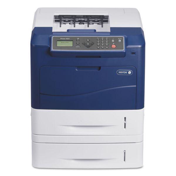 Xerox Phaser 4622DT Laser Printer - Monochrome - 1200 x 1200 dpi Print - Plain Paper Print - Desktop