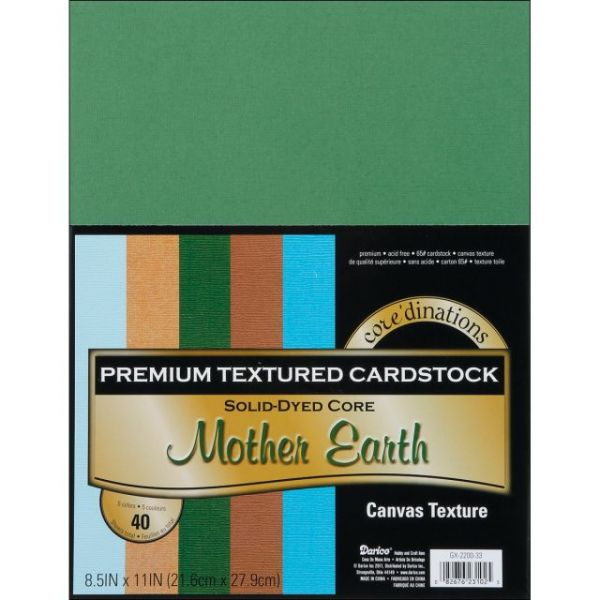 Core'dinations Premium Textured Mother Earth Cardstock