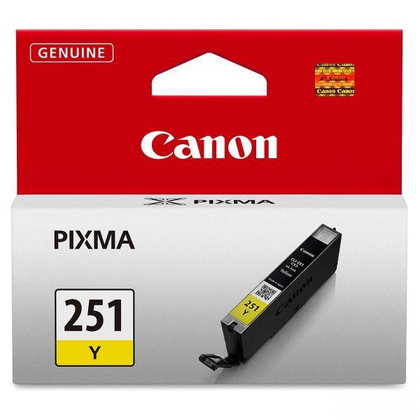 Canon CLI-251Y Yellow Ink Cartridge (6516B001)