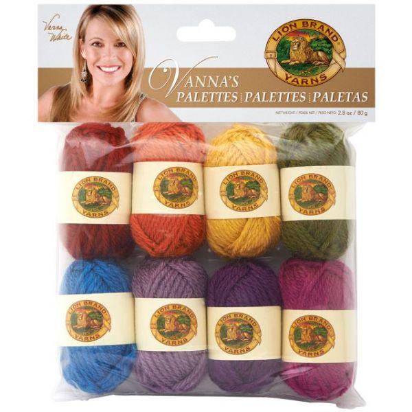 Lion Brand Vanna's Palette Bonbons Yarn
