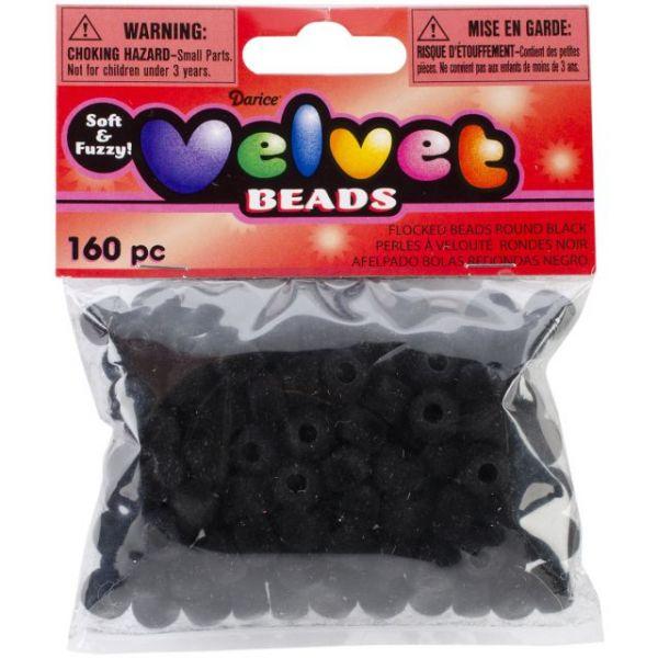 Darice Velvet Pony Beads