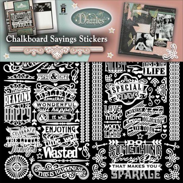 Dazzles Stickers 2/Pkg