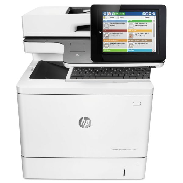 HP Color LaserJet Enterprise Flow MFP M577z Wireless Printer, Copy/Fax/Print/Scan