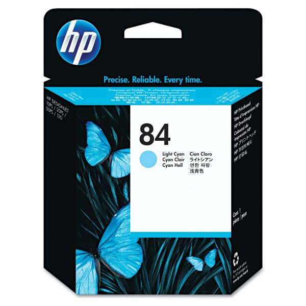 HP 84 Light Cyan Printhead (C5020A)