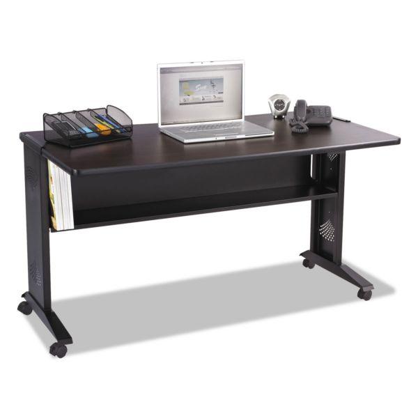 "Safco 54""W Reversible Top Mobile Desk"