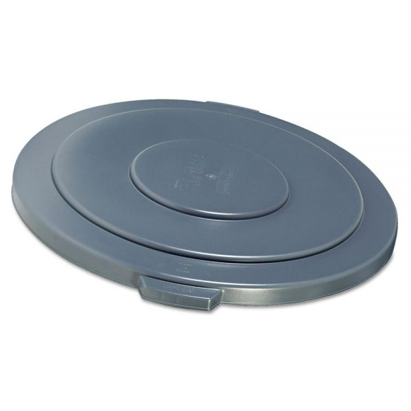 Rubbermaid Commercial Round Flat Top Lid