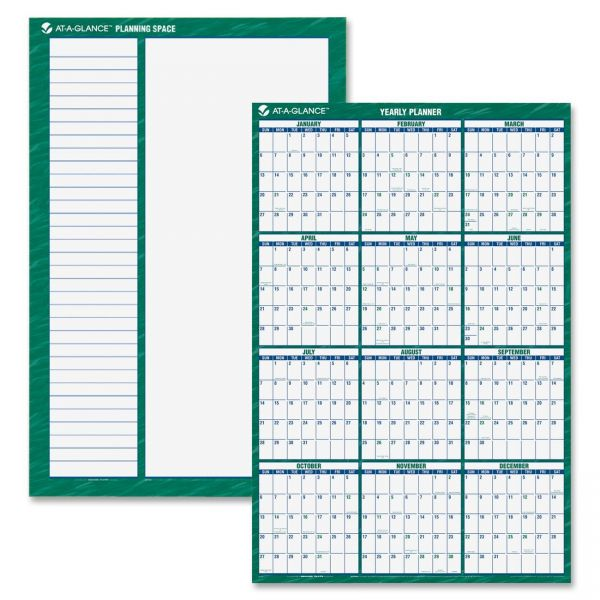 At-A-Glance Erasable Vertical Wall Planner