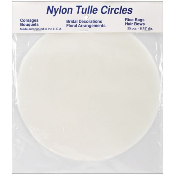 Nylon Tulle Circles