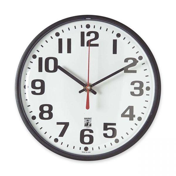 SkilCraft Self-Set Wall Clock