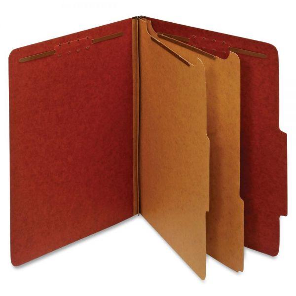 Globe-Weis Recycled Pressboard Classification File Folders