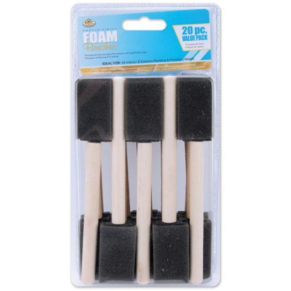 Foam Brushes 20/Pkg