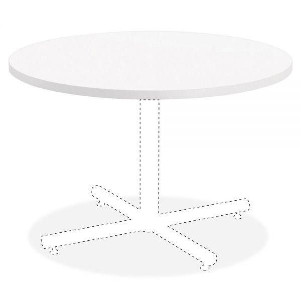 Lorell Hospitality White Laminate Round Tabletop