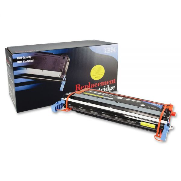 IBM Remanufactured Toner Cartridge - Alternative for HP 645A (C9732A) - Yellow