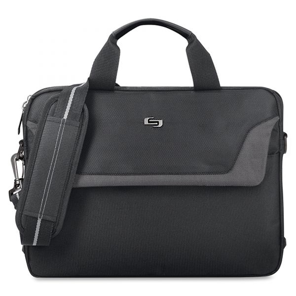 """Solo Sterling Carrying Case for 14.1"""" Notebook - Black"""