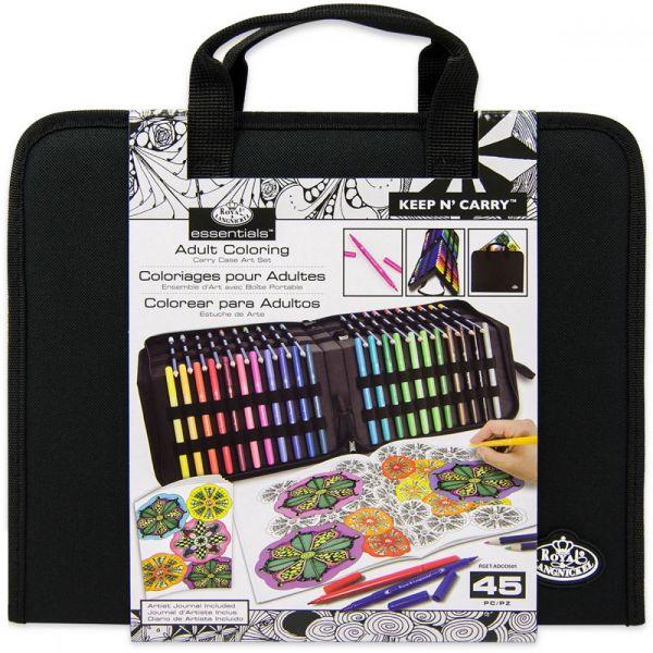 Adult Coloring Keep 'N Carry Set