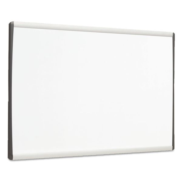 Quartet Dry-Erase Board With Adjustable Clips