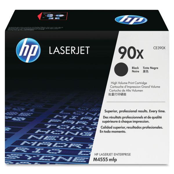 HP 90X Black High Yield Toner Cartridge (CE390XG)