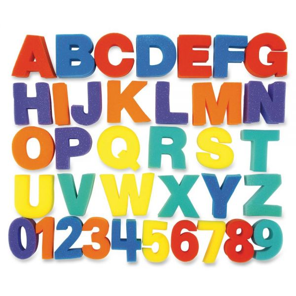 ChenilleKraft Letters & Numbers Paint Sponges Set