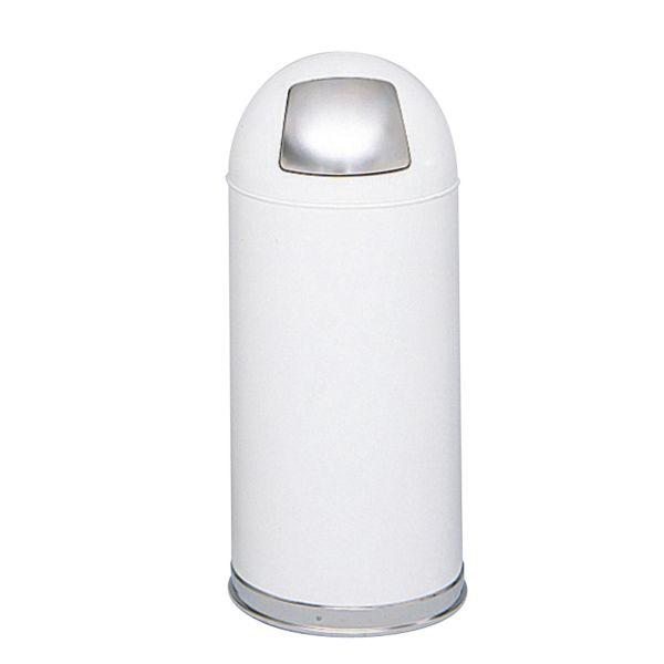 Safco Dome Top 15 Gallon Trash Can