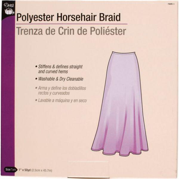 """Horsehair Braid 1""""X50yd"""