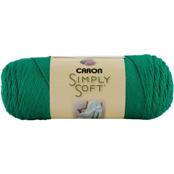 Caron Simply Soft Yarn - Kelly Green
