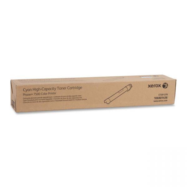 Xerox 106R01436 Cyan High Yield Toner Cartridge