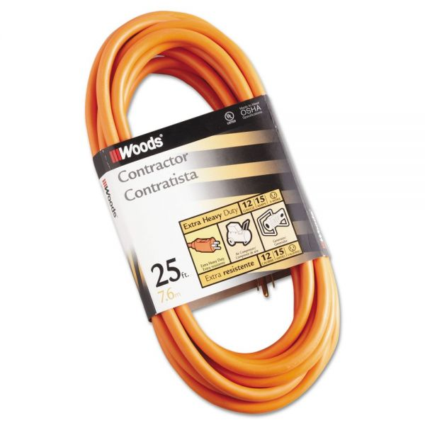 CCI Outdoor Round Vinyl 25' Extension Cord